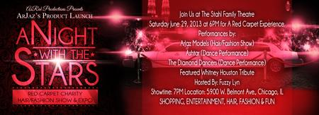 A NIGHT WITH THE STARS CHARITY HAIR/FASHION SHOW & EXPO