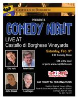 Comedy Night @ Borghese Vineyards
