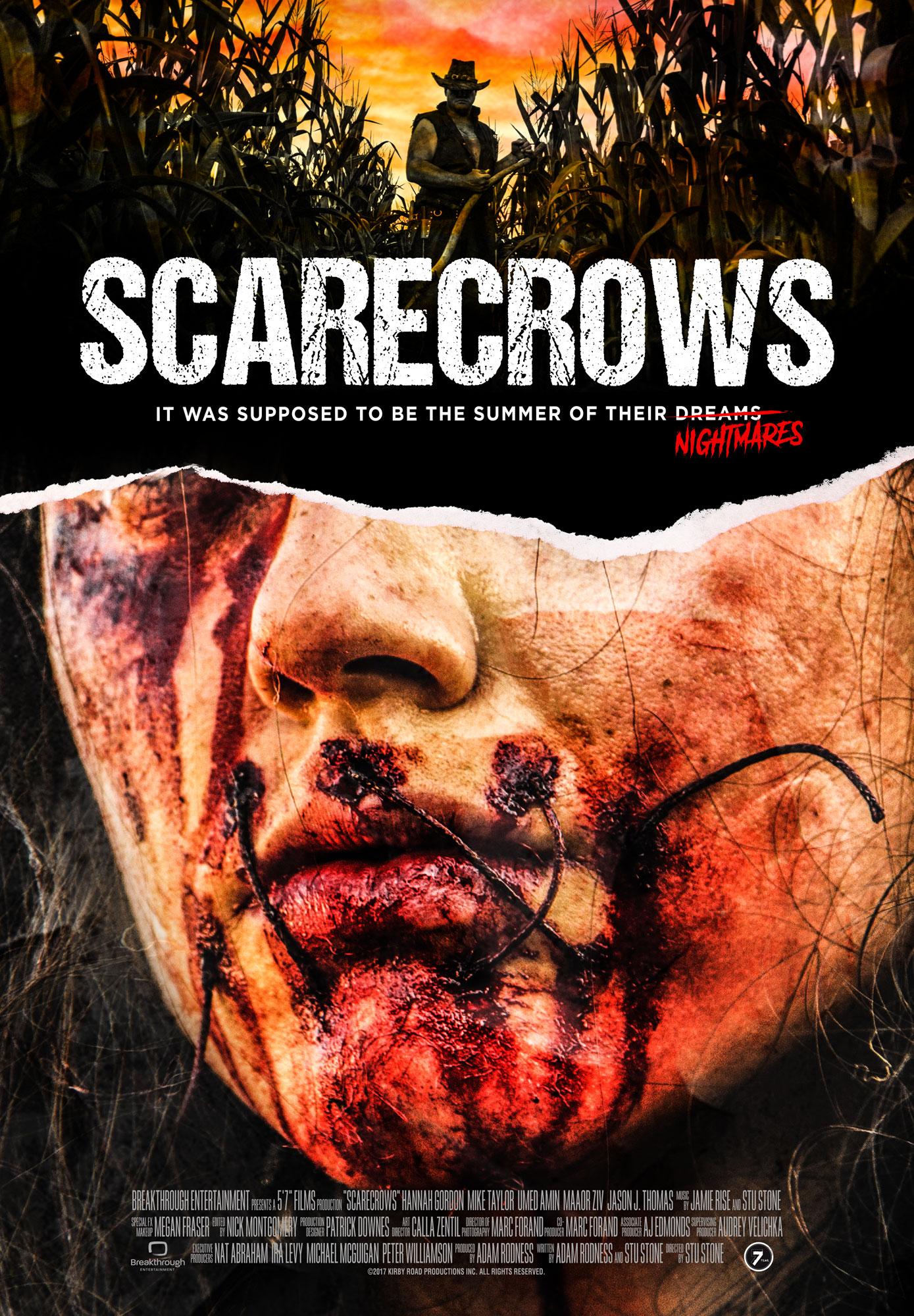 Scarecrows horro movie poster