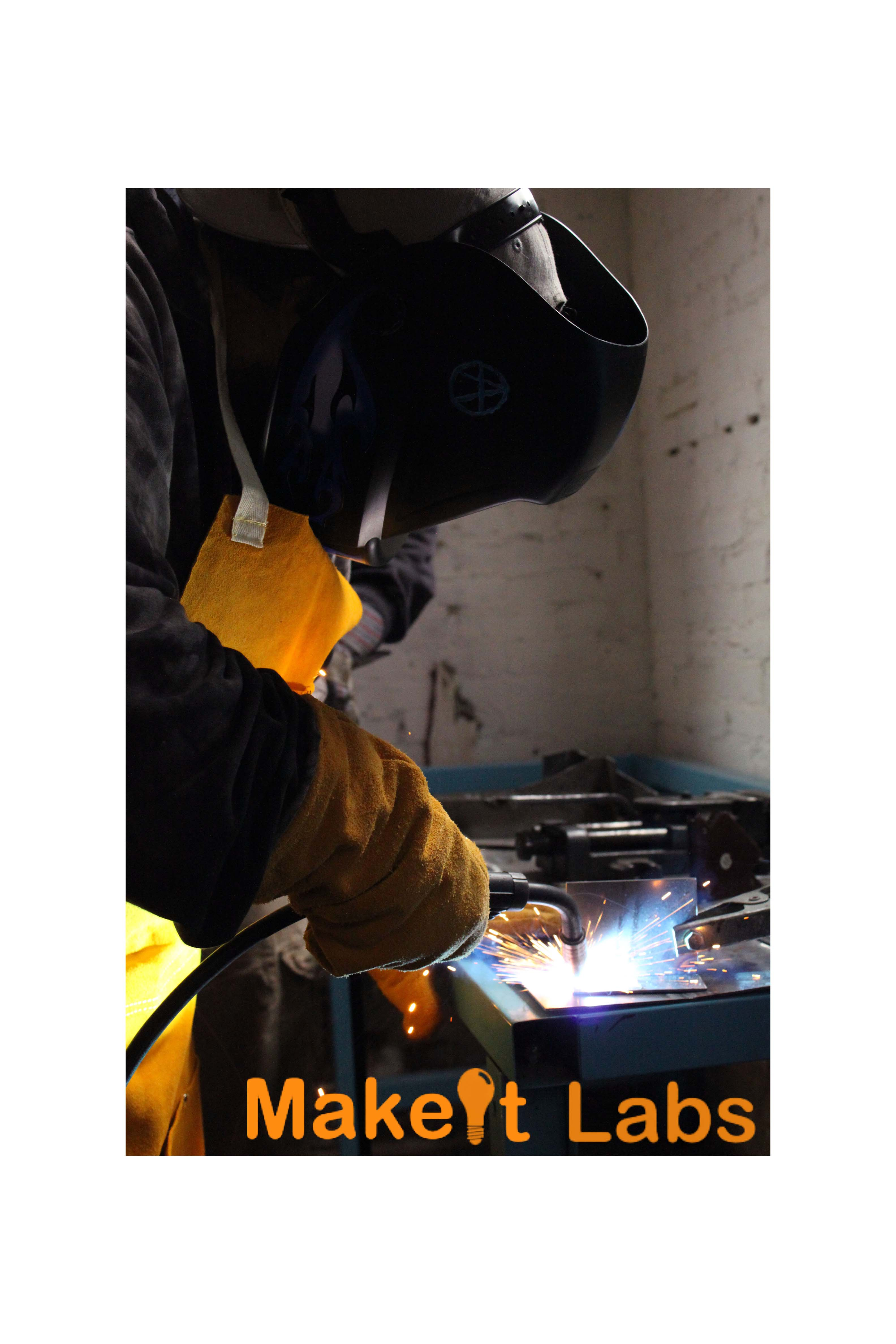 Makeitlabs Welding Student From March 2012