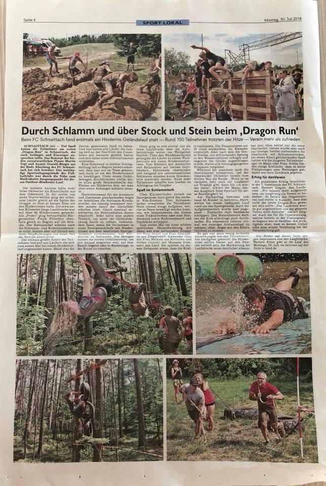 Zeitungsbericht 2018