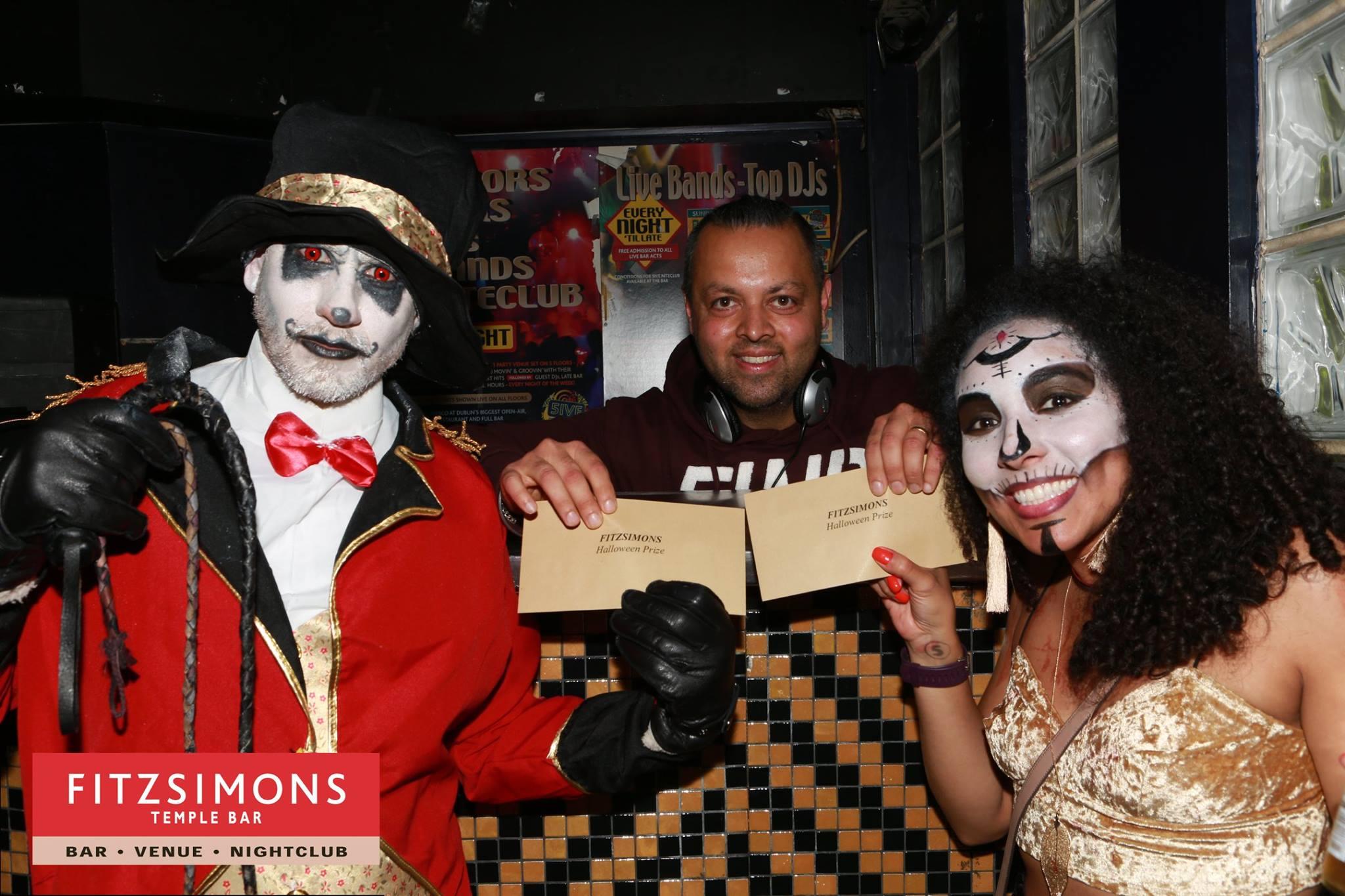 Halloween Spot Prize Winners