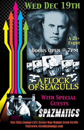 A Flock of Seagulls feat. Spazmatics