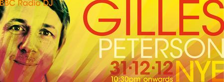 Gilles Peterson NYE party