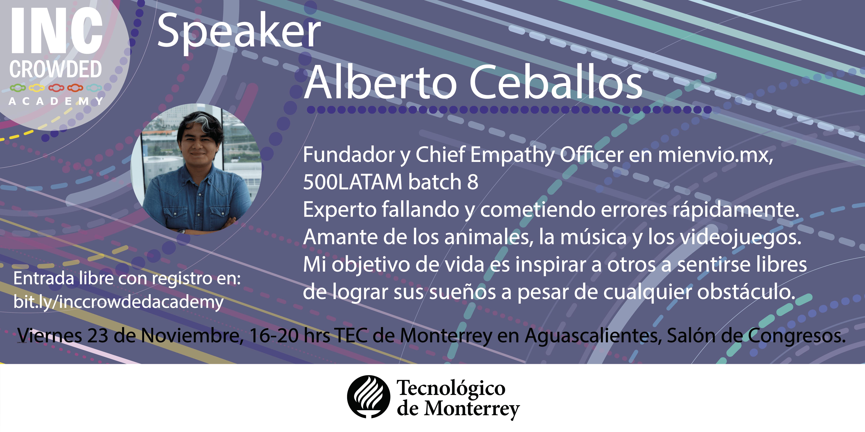 Alberto Ceballos Co-founder mienvio.mx