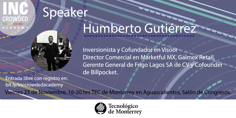 Humberto Co-Founder Visoor