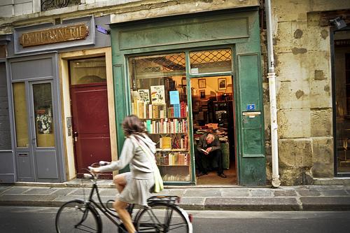 Latin Quarter bookshop photo by Craig Finlay