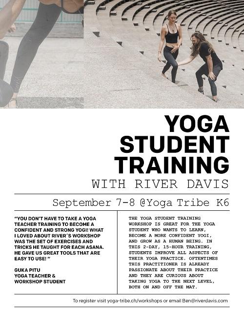 Yoga Student Training with River Davis