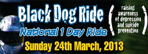 Black Dog Ride - 1 Day Ride Banner