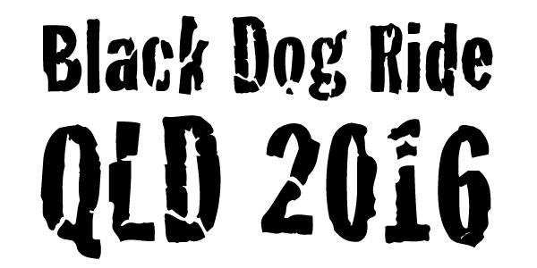 Black Dog Ride - QLD 2016