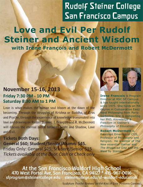 Love & Evil Conference Flyer