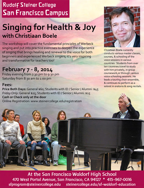 2014 Singing Conference