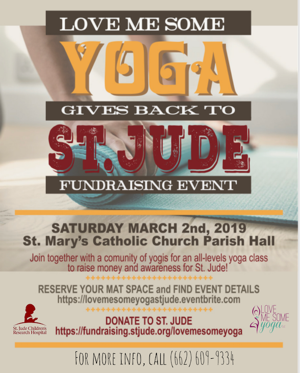 Love Me Some Yoga Gives Back to St Jude