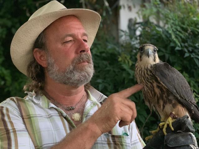 Master Falconer Kenny Elvin