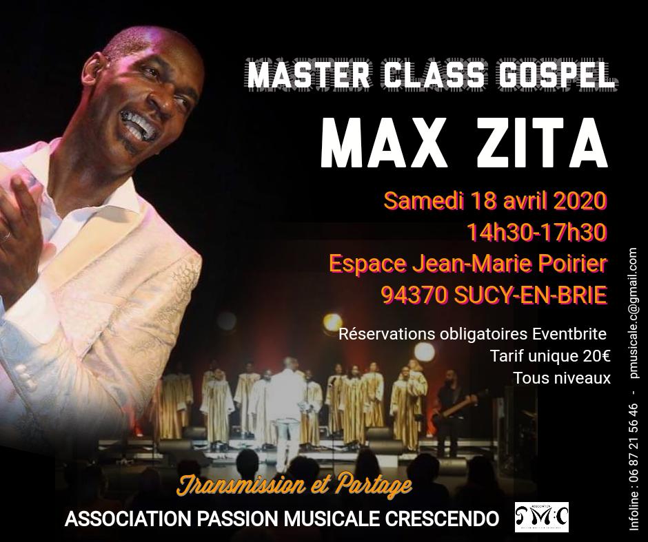 Master Class Sucy Max Zita