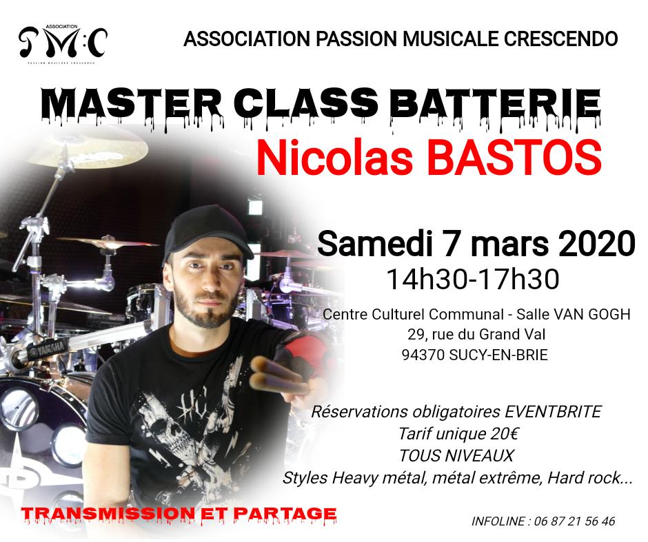 Master Class Sucy Nicolas BASTOS