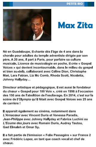 Biographie Max Zita