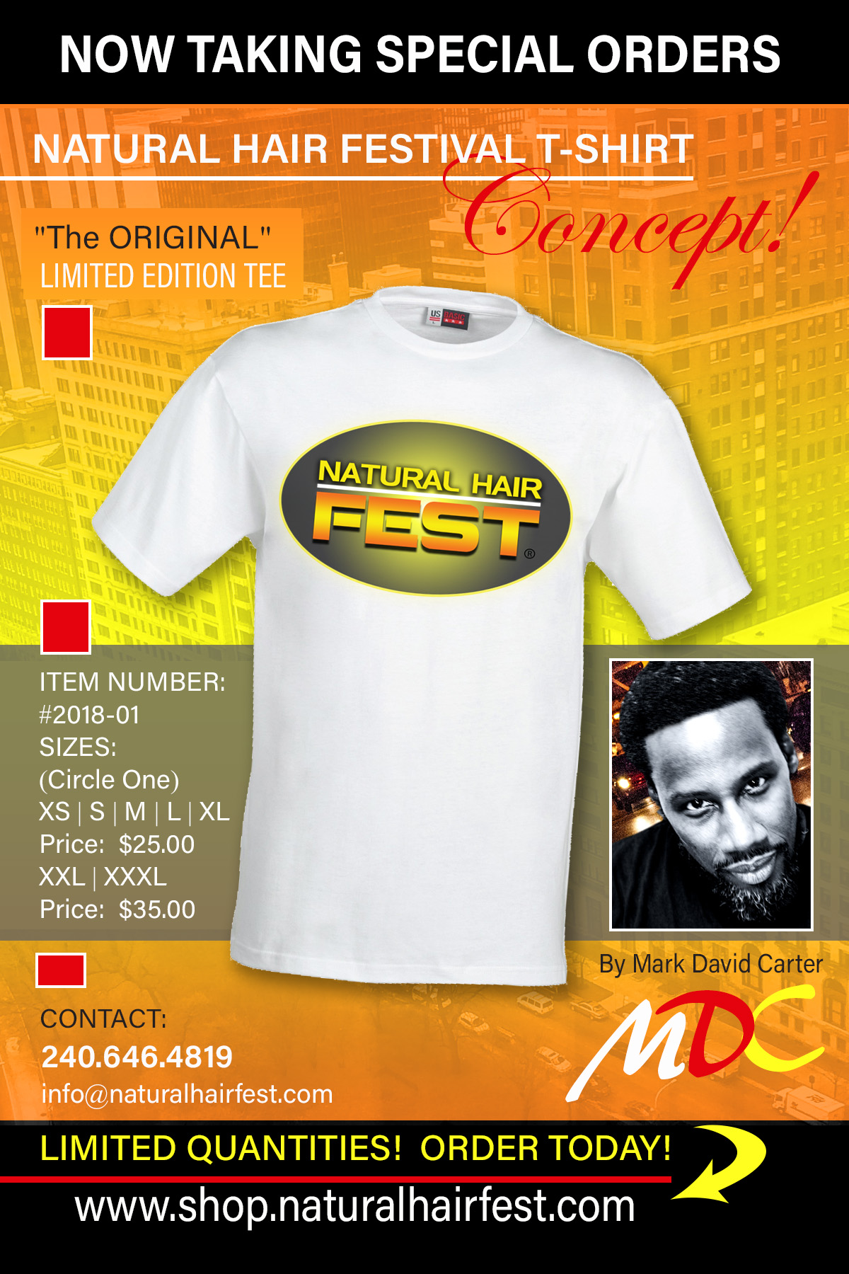 NATURAL HAIR FEST LIMITED EDITION TEES