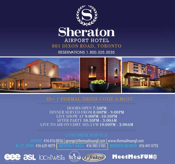 Sheraton Hotel Toronto Dixon Road