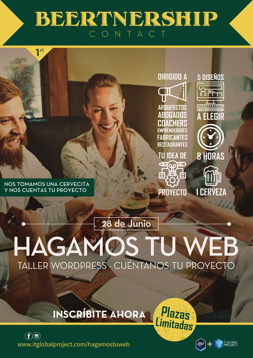Taller Wordpress Hagamos tu Web