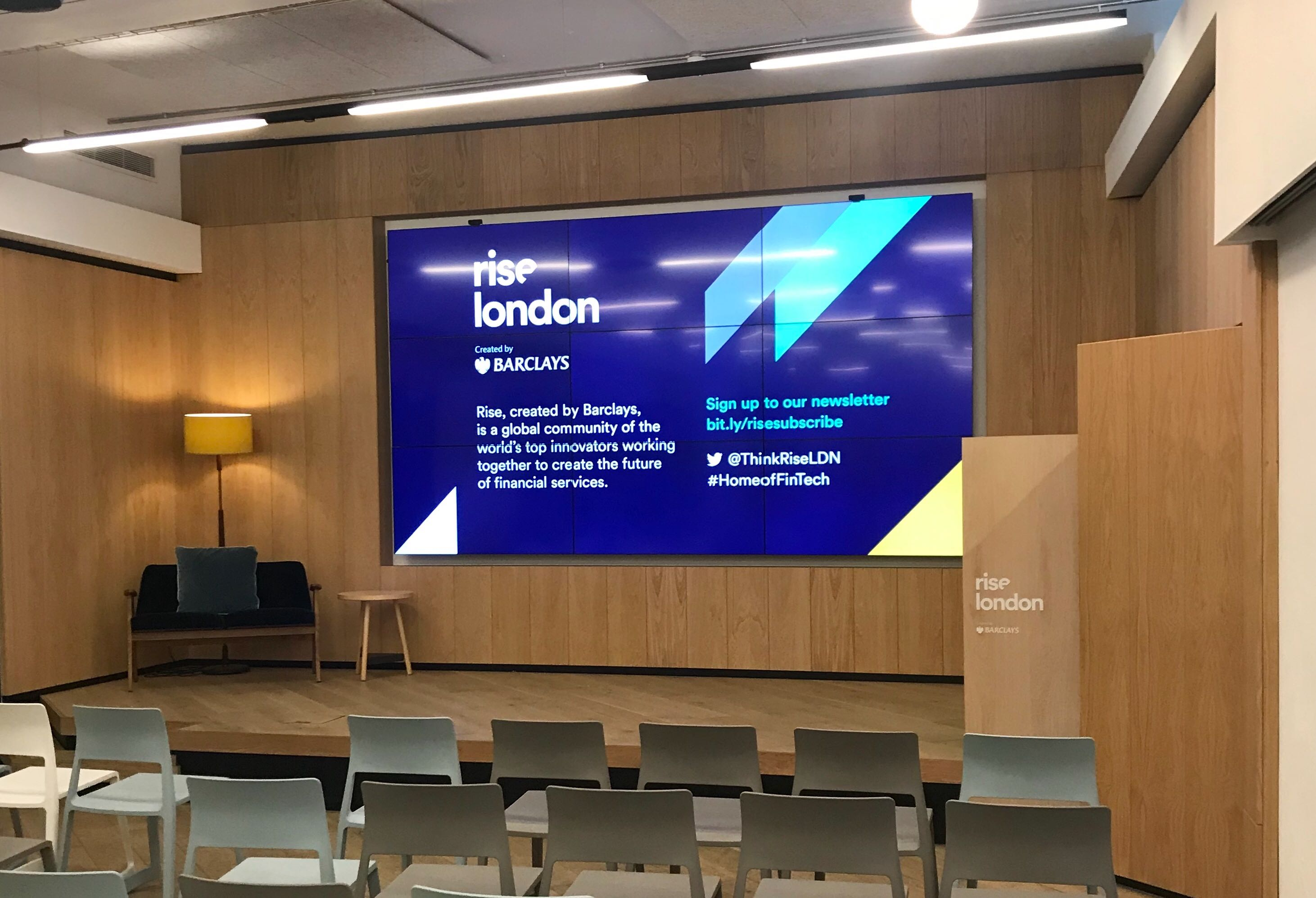 Rise London Auditorium