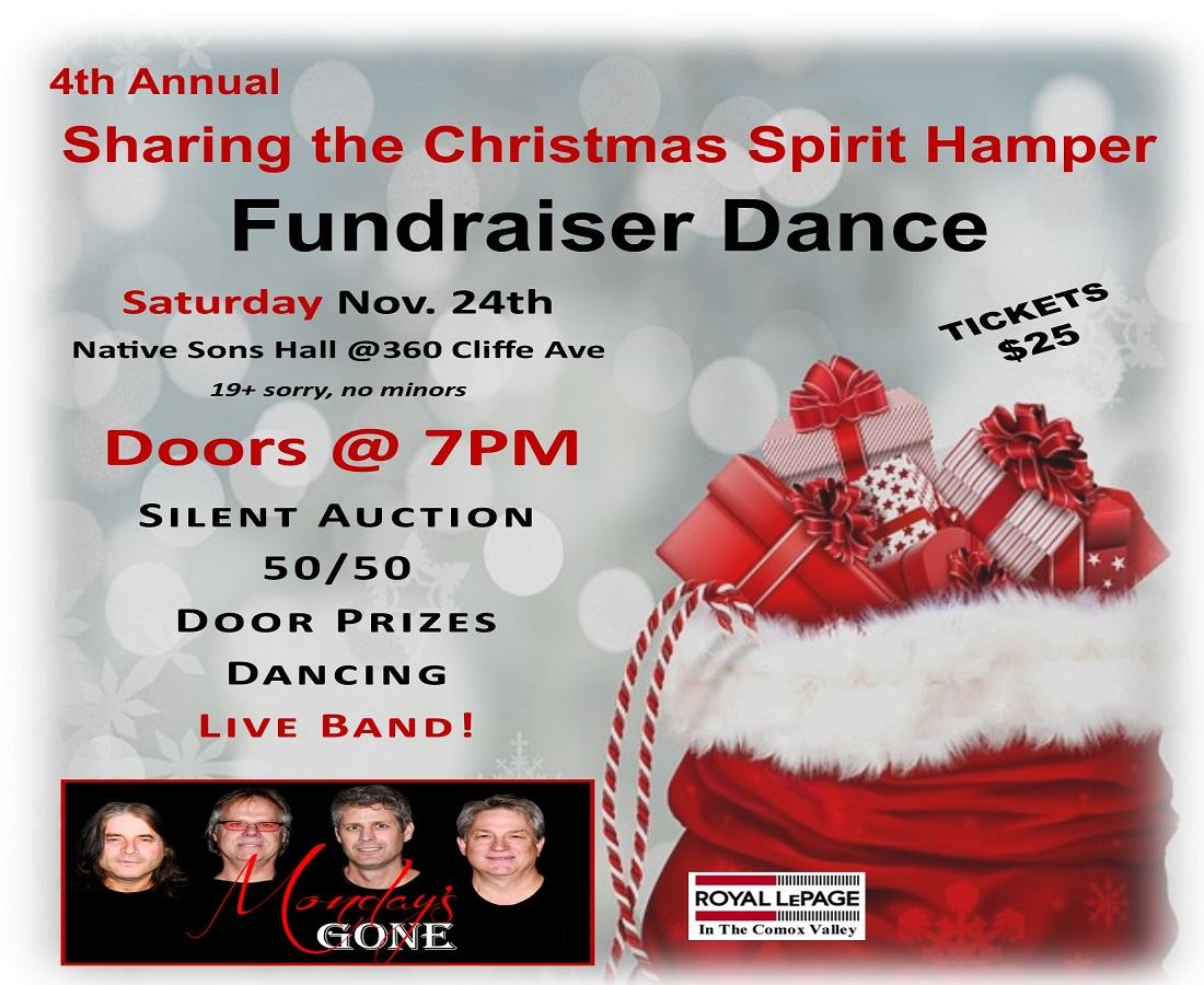 Sharing the Christmas Spirit Hamper Fundraiser Dance Tickets, Sat ...