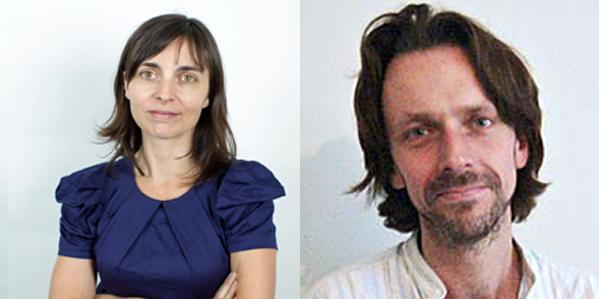 Saskia Olde Wolbers and Gareth Evans