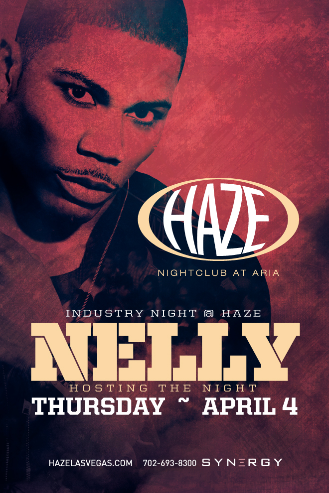Nelly hosts Industry Night in Vegas at HAZE Nightclub