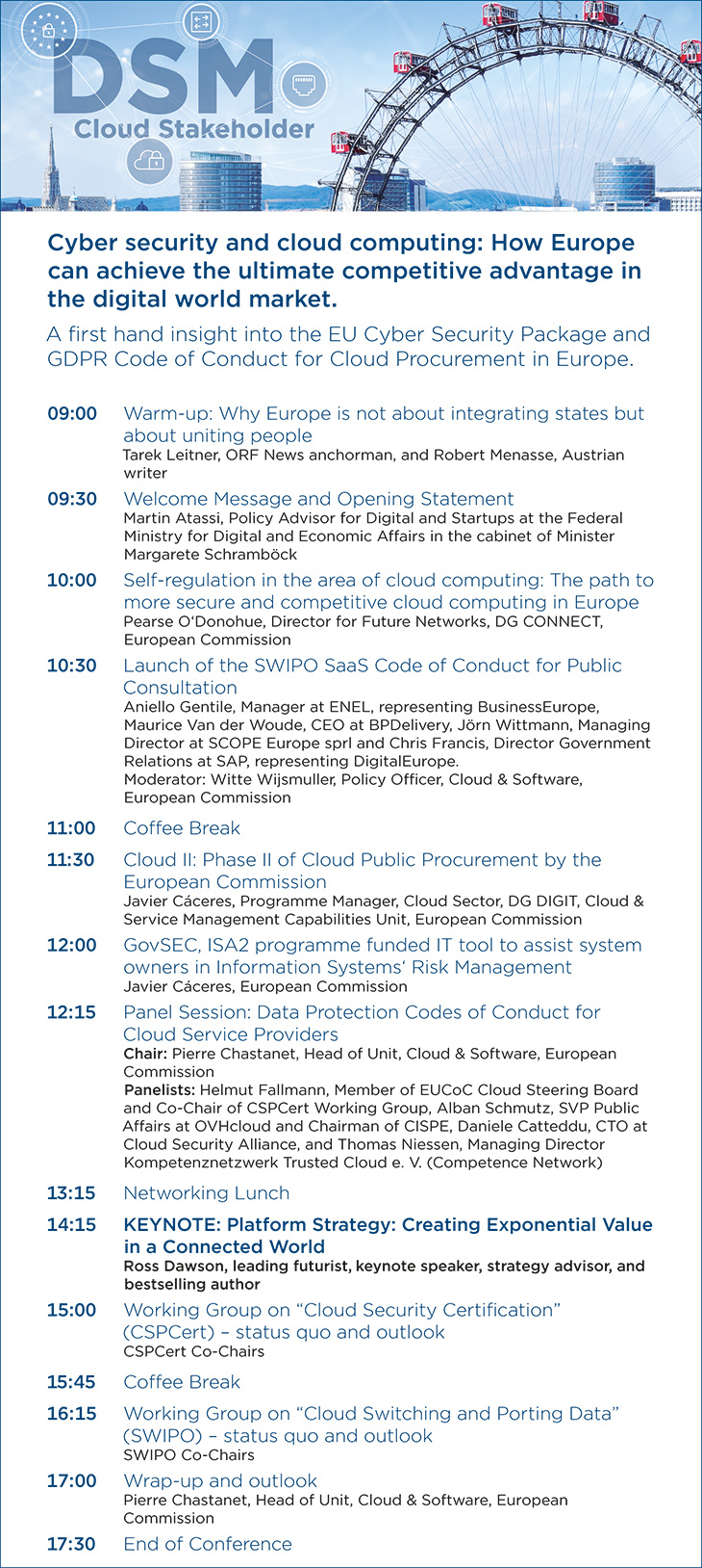Agenda_DSM Cyber Security and Cloud Computing Conference_06.12.2018 in Vienna
