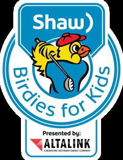 Shaw Birdies for Kids presented by AltaLink logo