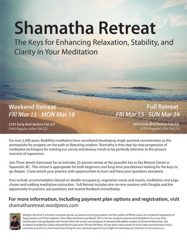 Shamatha Retreat