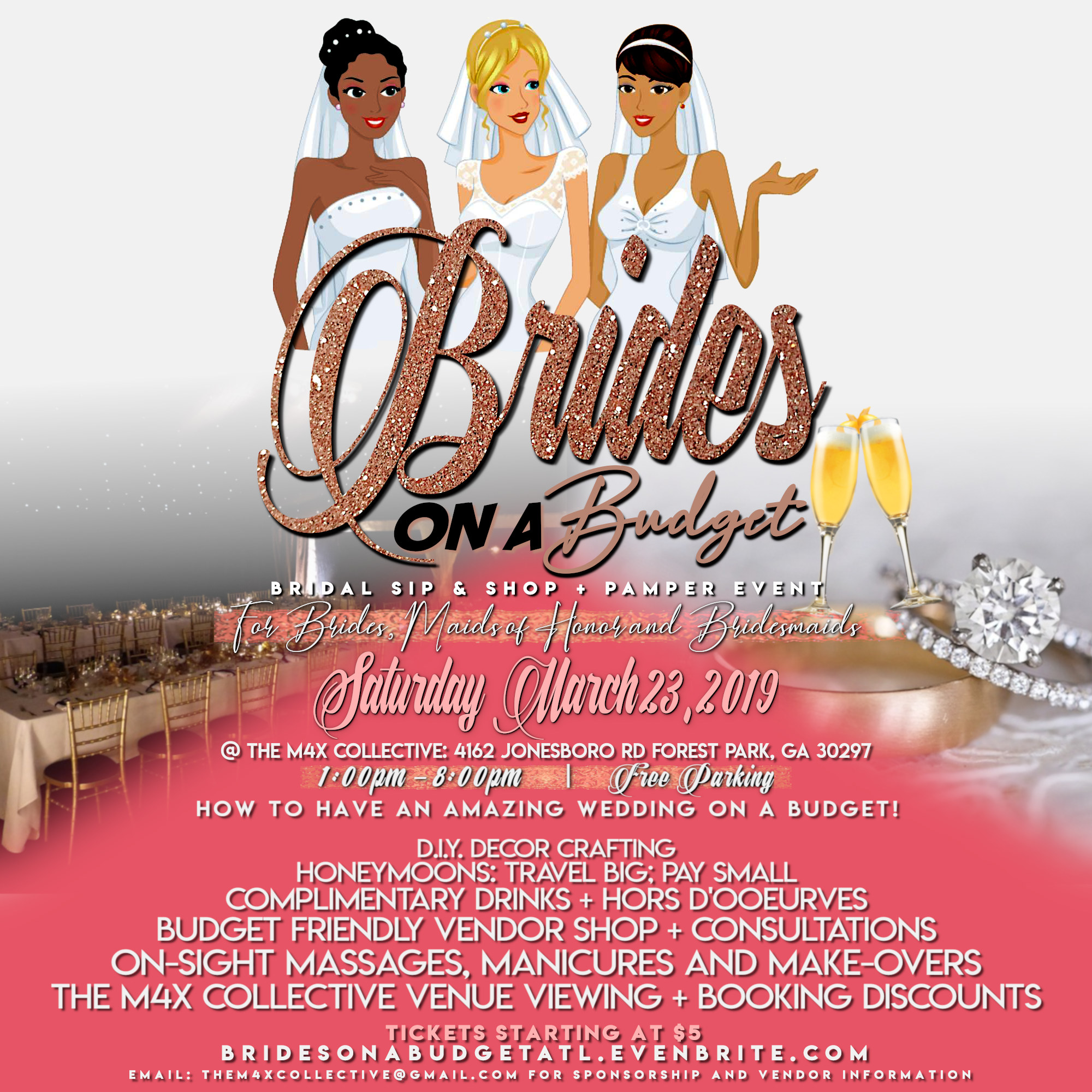 Brides On A Budget Bridal Sip Shop Refreshments Pampering