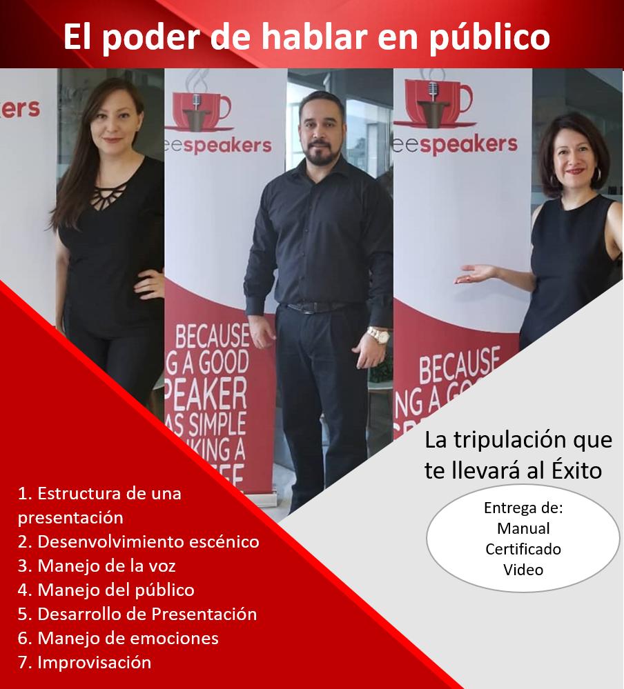 El poder de hablar en publico