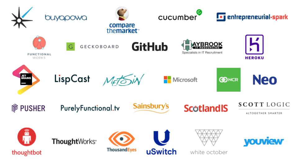 UK Workshop Sponsors