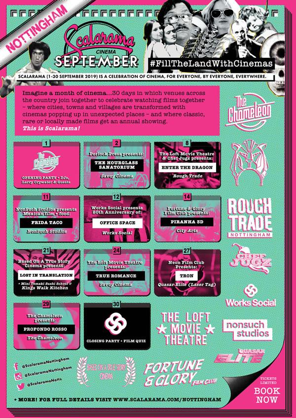 Scalarama 2019 Nottingham Festival Line-up