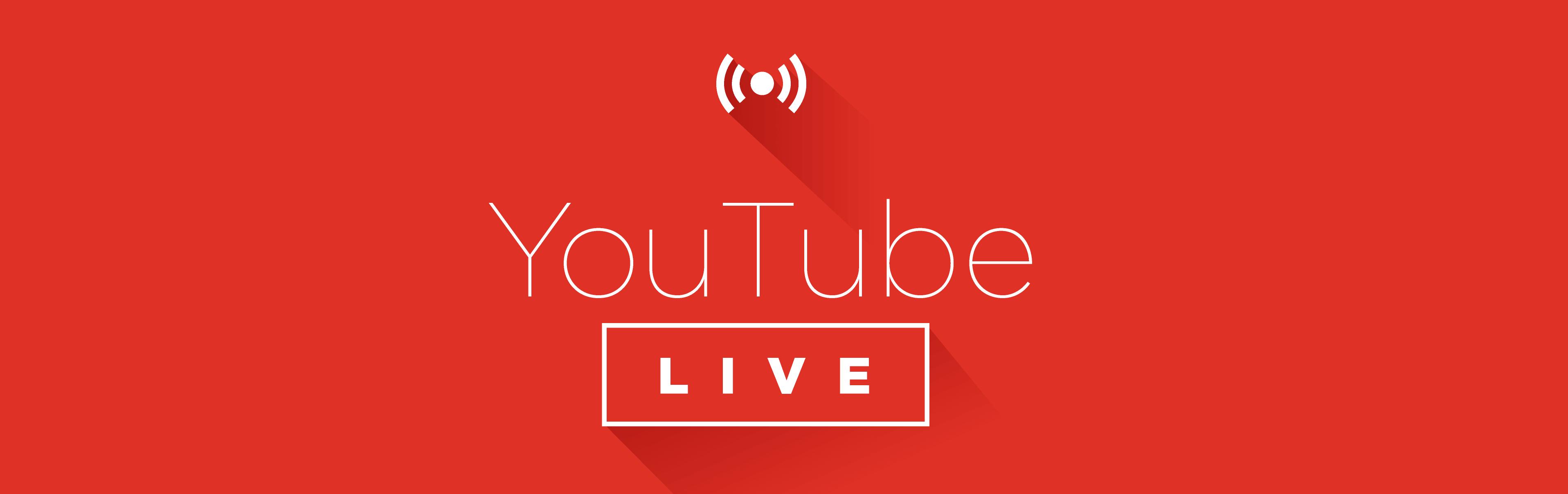 Ao vivo no youtube