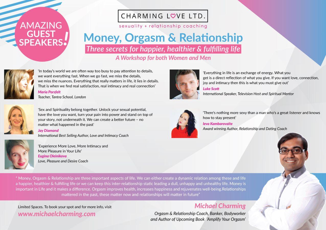 Money, Orgasm & Relationship