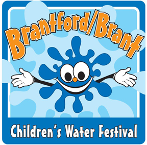Brantford Brant Children's Water Festival Logo