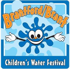 Brantford Brant Children's Water Festival Logo