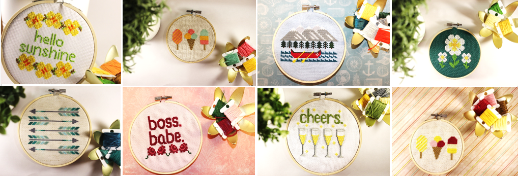 YH Cross Stitch Designs patterns and kits