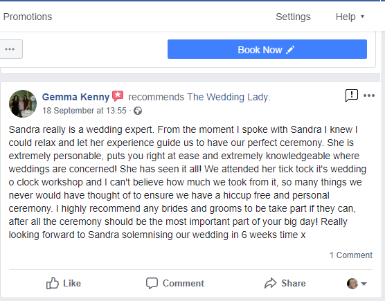 Review for Tick Tock It's Wedding O'clock