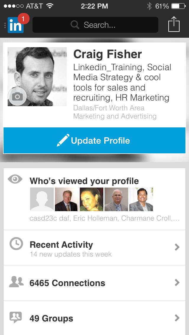 Craig Fisher Linkedin Profile