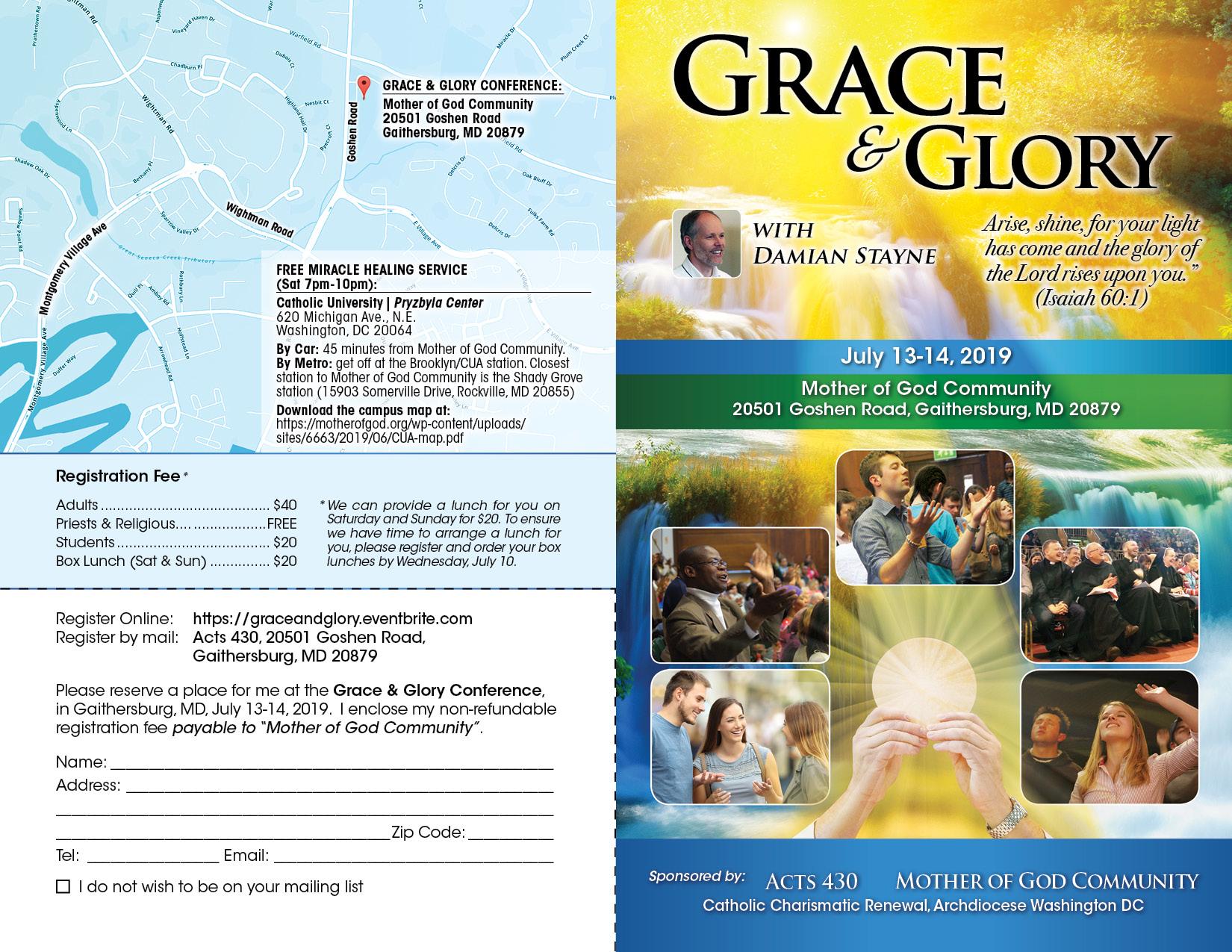 Grace & Glory brochure page1