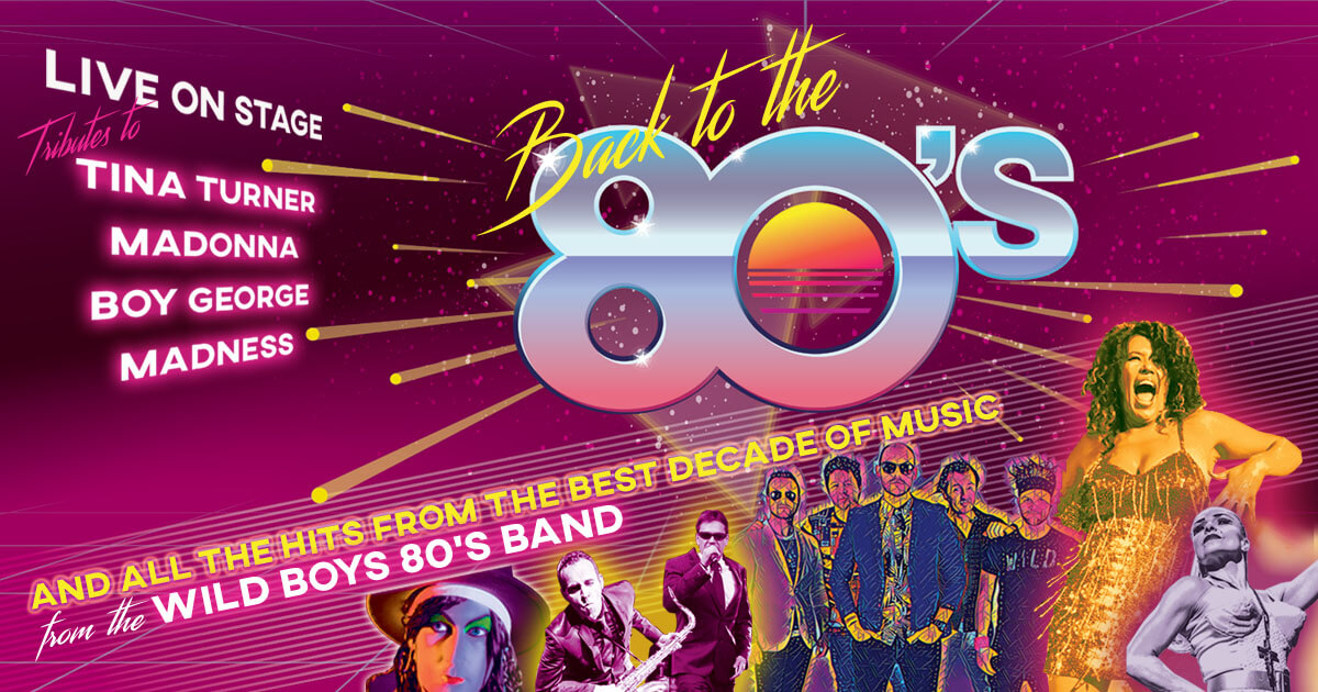 Back to the 80's - Cromer Hall