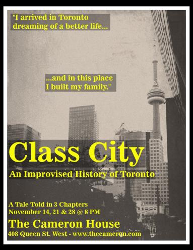 Class City Poster