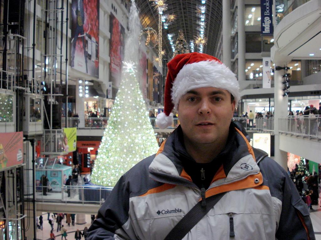 Tour Guy Jason at Christmas