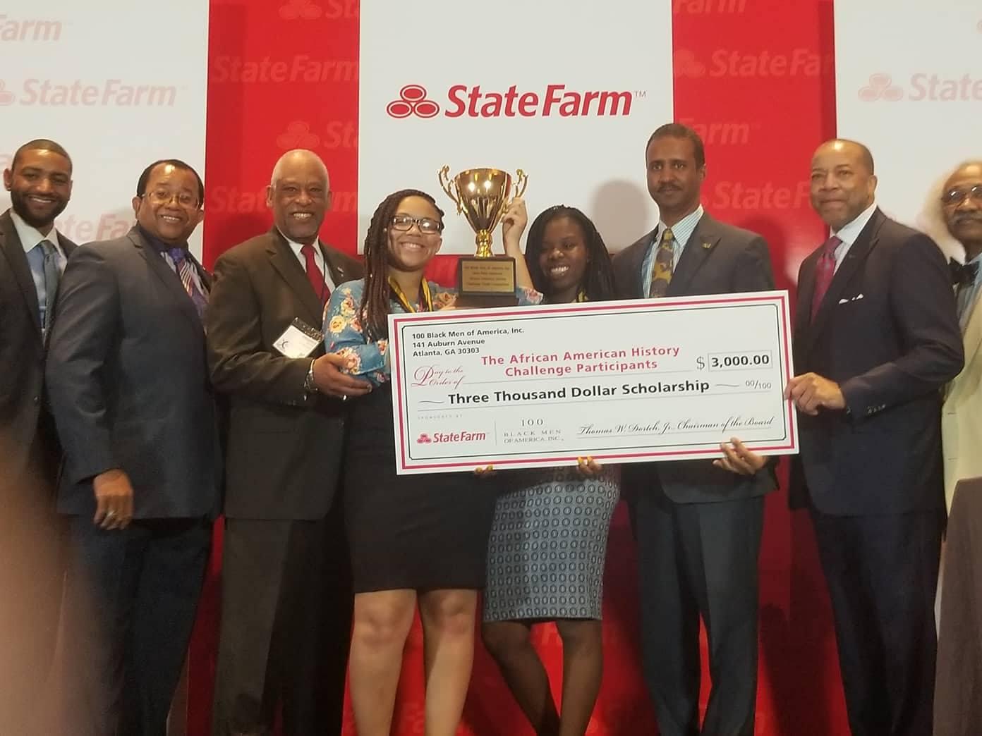 Philadelphia Chapter Team 2018 African American History Challenge National Winners