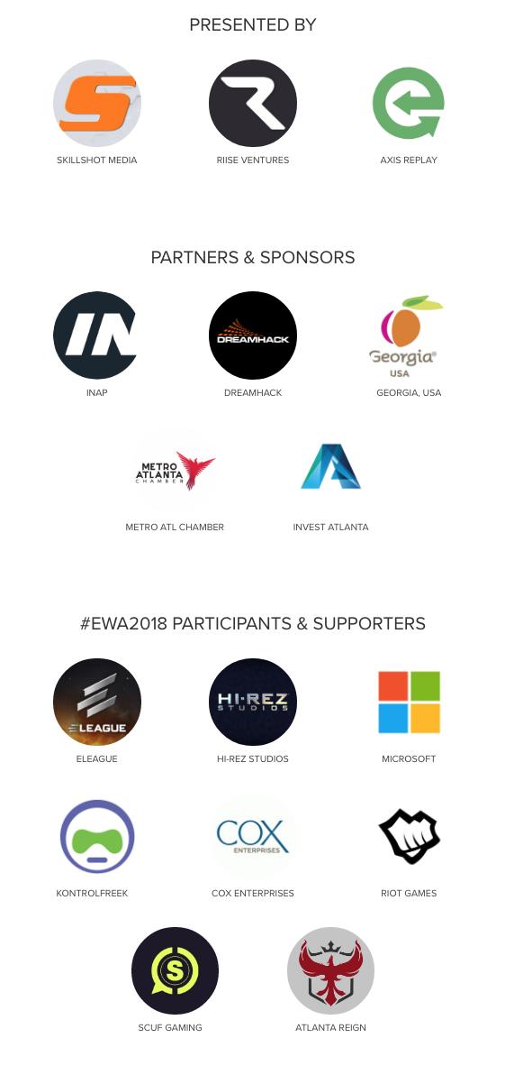 #EWA2018 Partners & Sponsors