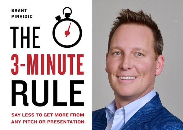 Brant Pinvidic 3 Minute Rule book cover
