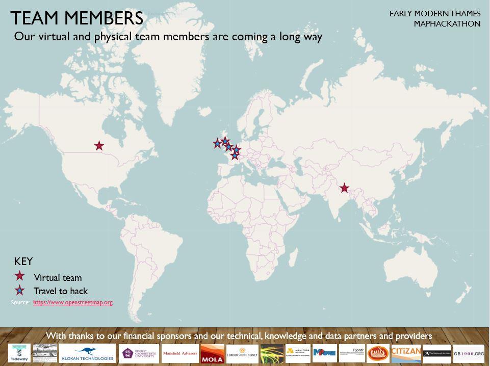 Team Members Geographic Scope
